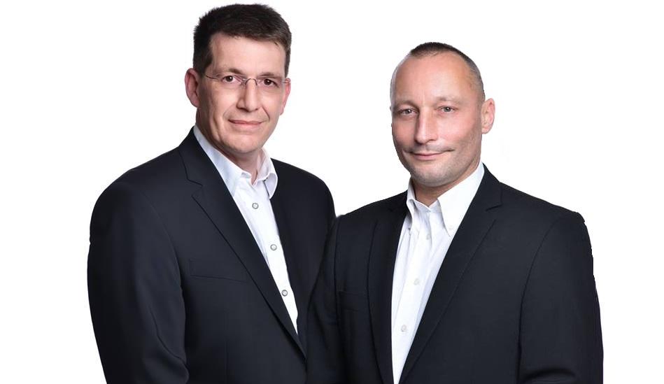 Jürgen Kailer und Marcus Guggolz, Geschäftsführer, MediCfair, Medizin, Hilfe, Pflegen, Retten und mehr